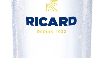 Nouvelle carafe Ricard créée par le designer français MATHIEU LEHANNEUR