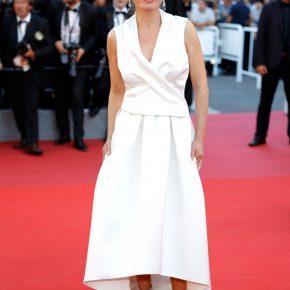 Sandrine Bonnaire en robe PAULE KA – Festival de Cannes