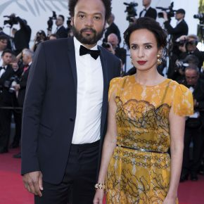 AMELLE CHAHBI WEARS ATELIER SWAROVSKI TO THE 70TH ANNUAL CANNES FILM FESTIVAL