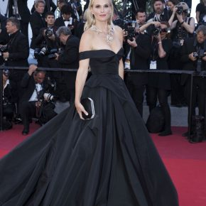MOLLY SIMS WEARS SWAROVSKI TO THE 70TH ANNUAL CANNES FILM FESTIVAL