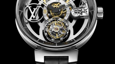 LOUIS VUITTON NOUVELLE COLLECTION HORLOGERIE TAMBOUR MOON
