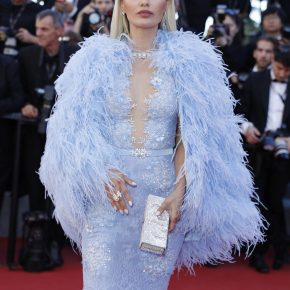 VICTORIA BONYA WEARS DANIEL SWAROVSKI TO THE 70TH ANNUAL CANNES FILM FESTIVAL