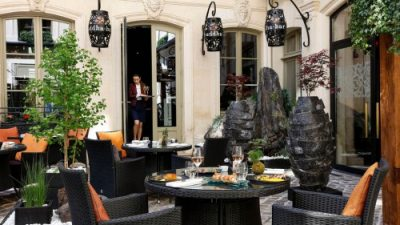 LE BUDDHA-BAR HOTEL PARIS INAUGURE SA NOUVELLE TERRASSE JUNGLE CHIC