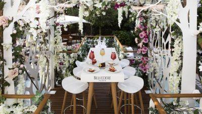 Le Jardin Suspendu Belvedere Vodka au Royal Monceau – Raffles Paris Été 2017