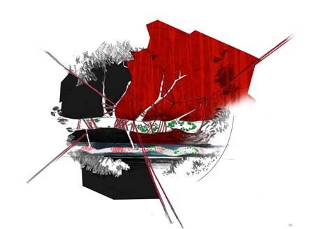 the red garden de christophe gautrand pour tanqueray au mandarin oriental paris luxsure. Black Bedroom Furniture Sets. Home Design Ideas