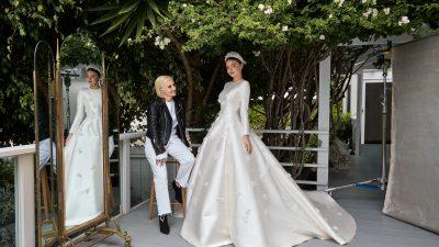 DIOR présente la robe de mariée de MIRANDA KERR