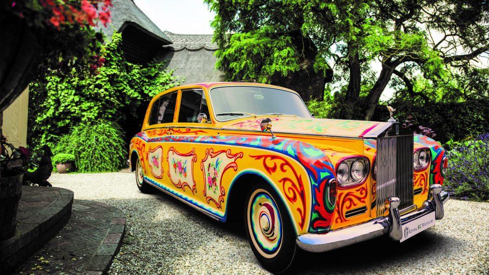 Rolls-Royce annonce le retour de la «Phantom V John Lennon» à Londres pour le 50eme anniversaire de l 'album SGT. Pepper's Lonely Hearts Club Band