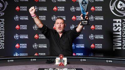 Philippe Le Touche remporte le tournoi principal du PokerStars Festival Lille pour 143 000€