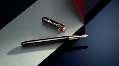 Montblanc : Héritage Rouge & Noir Tropic Brown et Solitaire Serpent Limited  Edition 1906