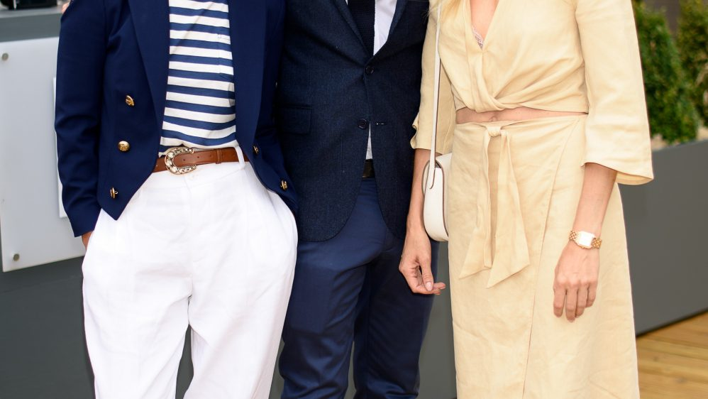 Guests at the Polo Ralph Lauren VIP Suite, Wimbledon – Men's Finals, 16th July