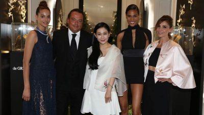 de GRISOGONO organise un diner exclusif pendant la semaine de la couture à Paris.
