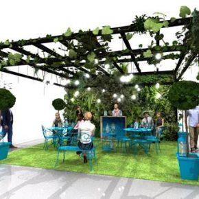 Les 7 terrasses de l'été où déguster le parfait Gin & Tonic avec le gin super-premium Bombay Sapphire