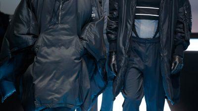 Giorgio Armani, Fashion Week Homme, Milan Automne-Hiver 2017-2018