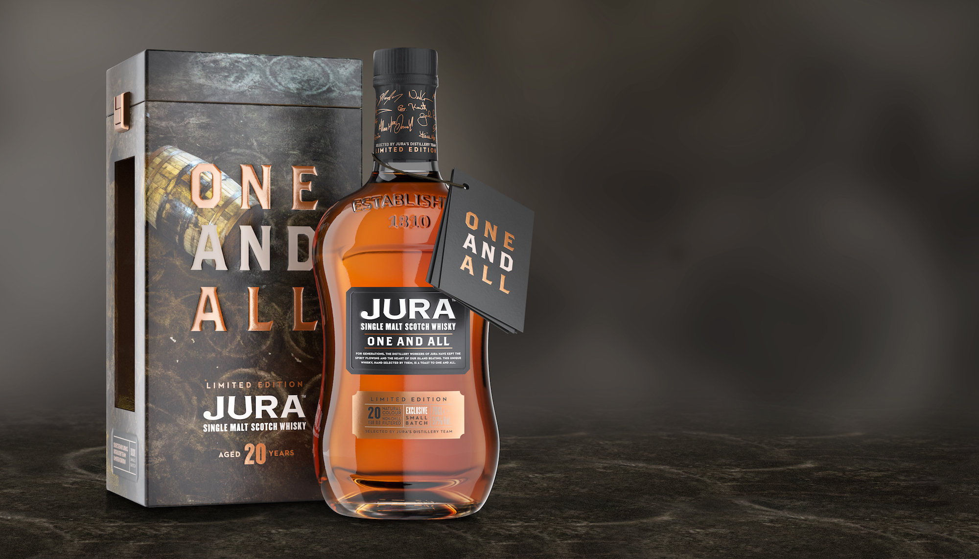 JURA Whisky lance « One And All »