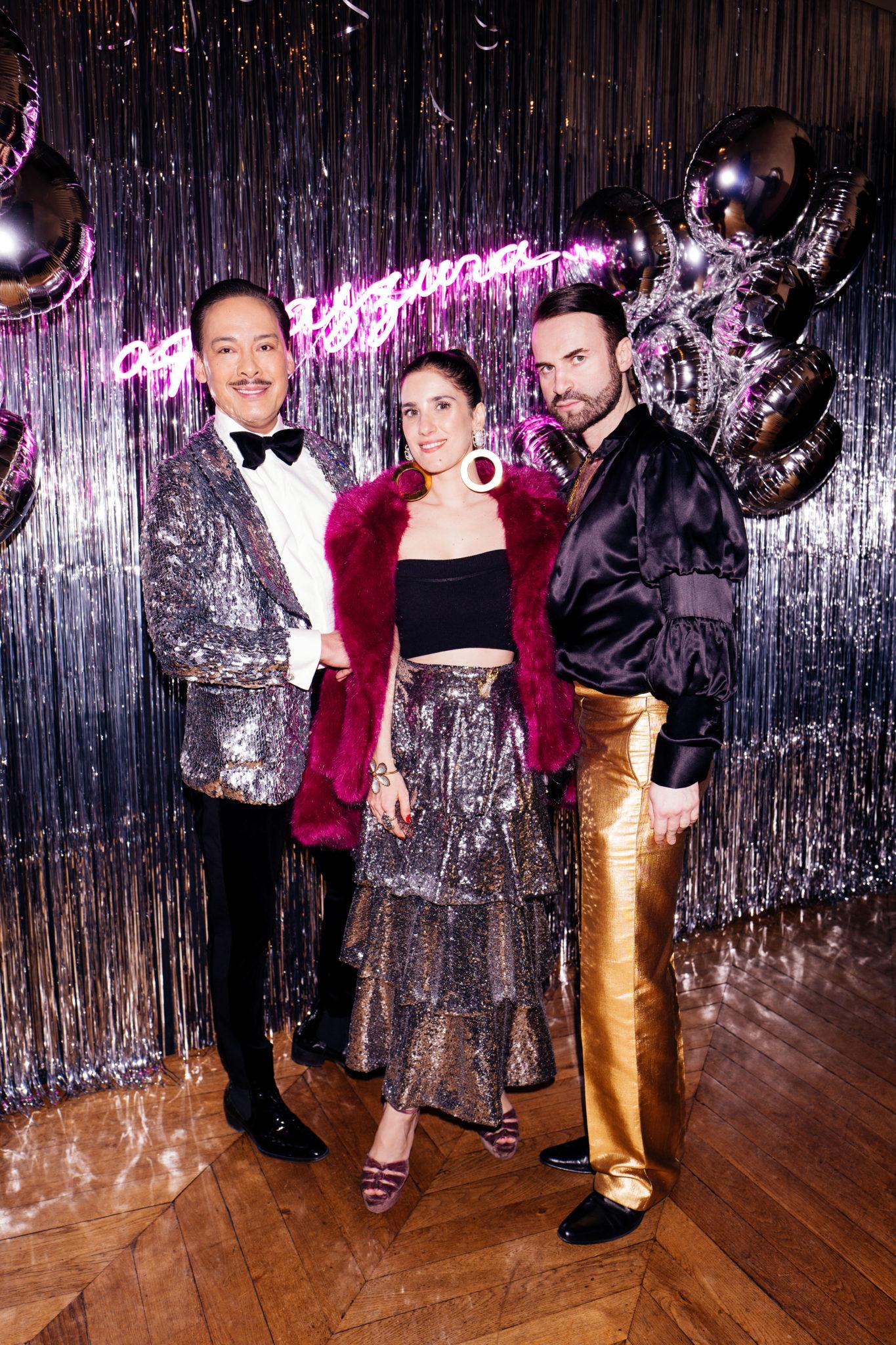 AQUAZZURA Hosts Disco Themed Party In Paris To Celebrate