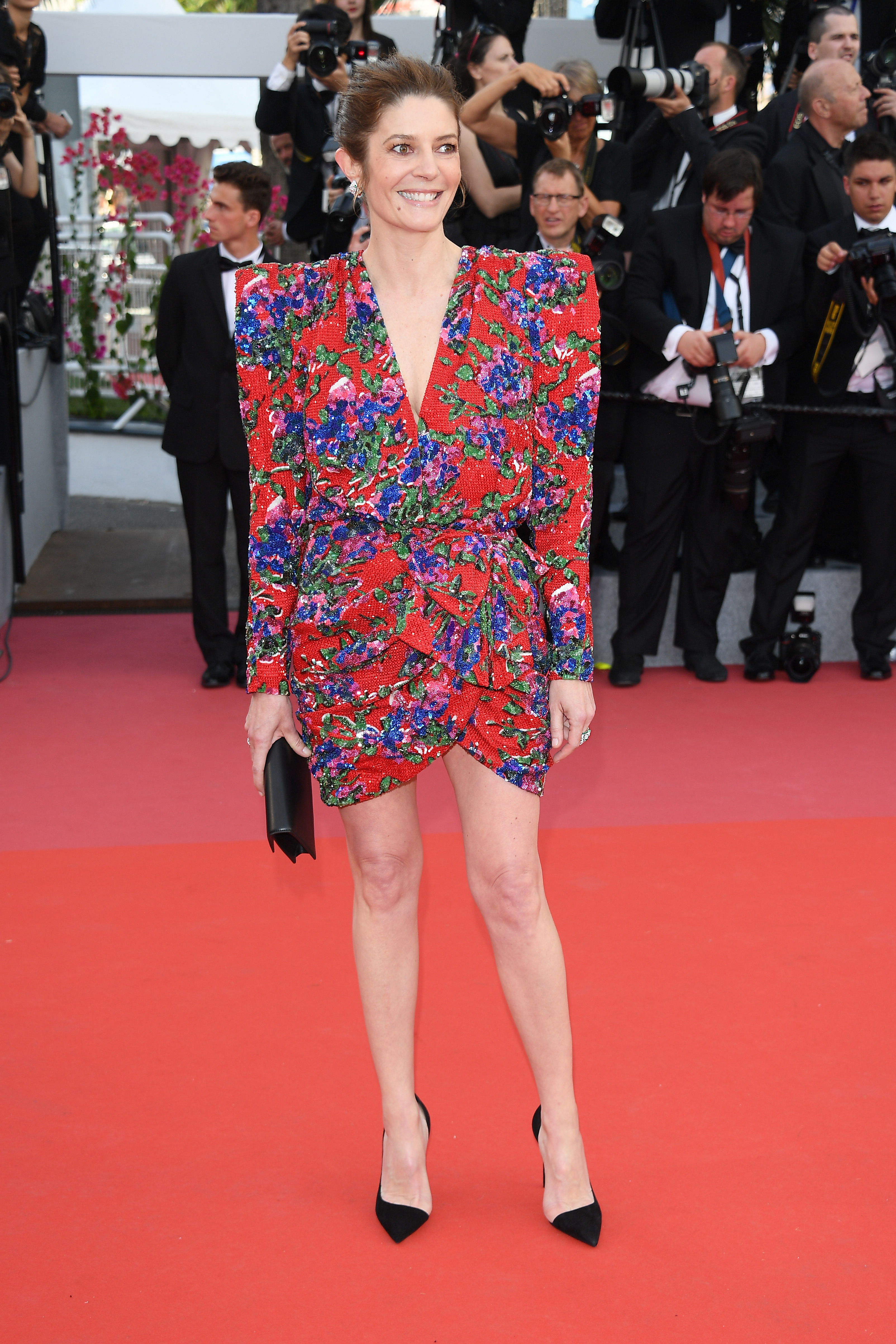 "CANNES, FRANCE - MAY 08: Chiara Mastroianni attends the screening of  ""Everybody Knows"