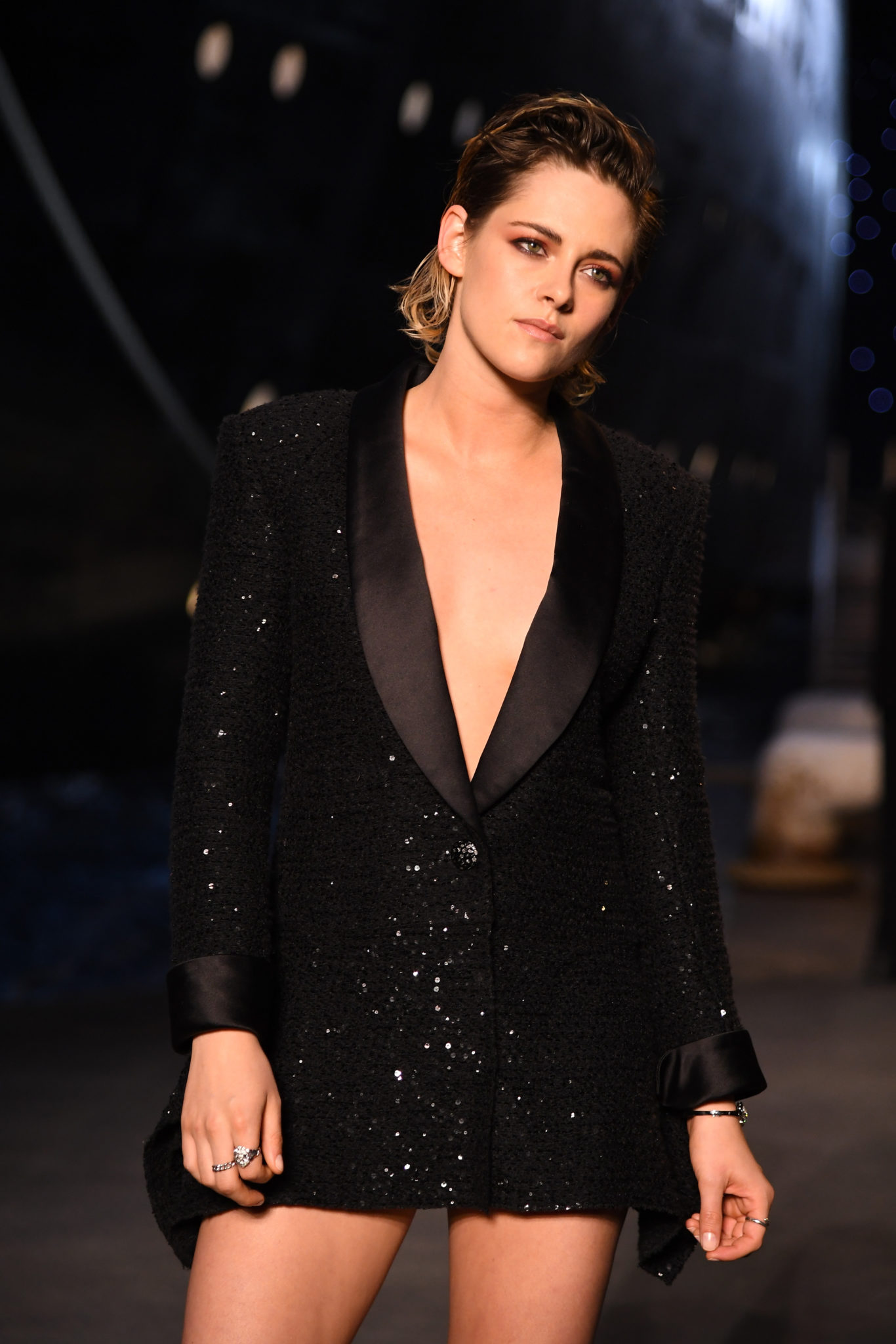 attends the Chanel Cruise 2018 2019 Collection at Le Grand Palais on May 3 07ea887ce2da