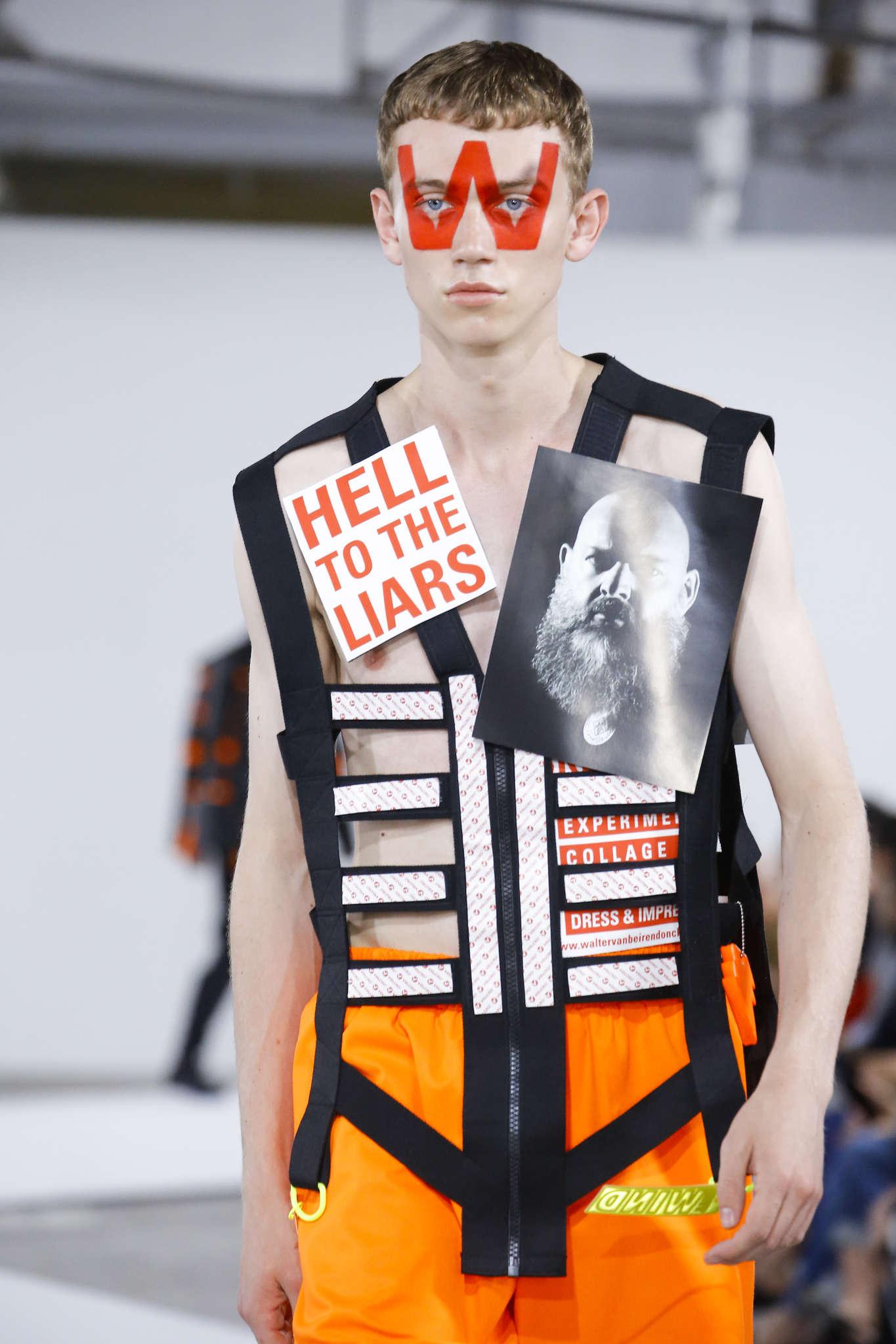 Fashion Week Masculine Printemps été 2019   Jour 2 Tous révoltés ... 29aca9fc08c